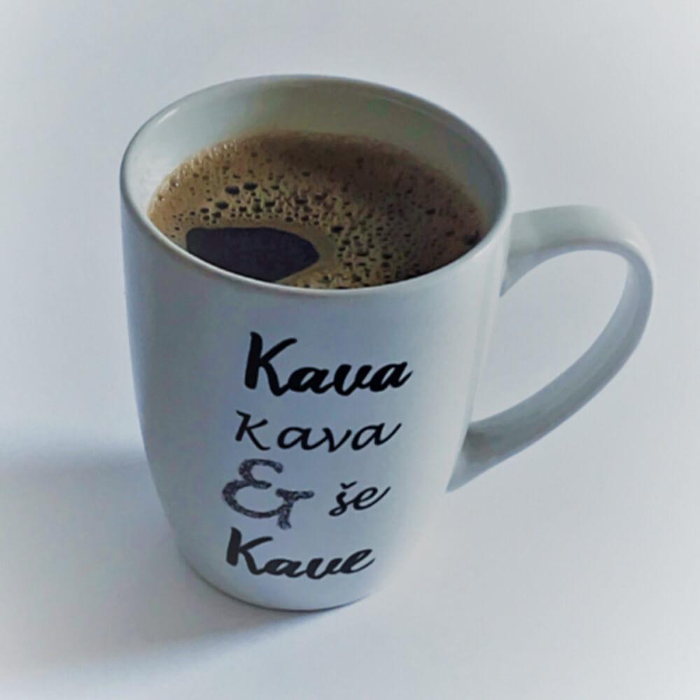 Lonček Z Napisom Kava