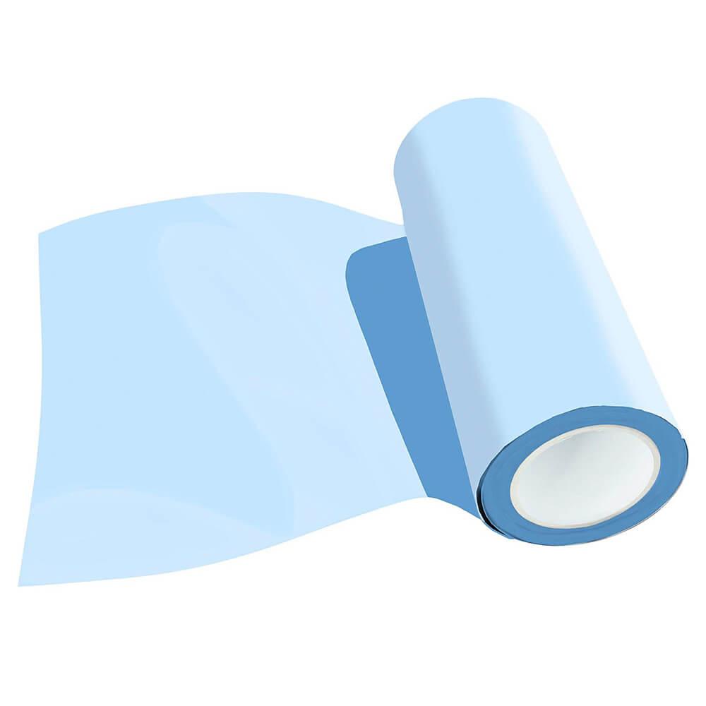 Zartee-flex folija za toplotni transfer PASTEL - Ledeno modra