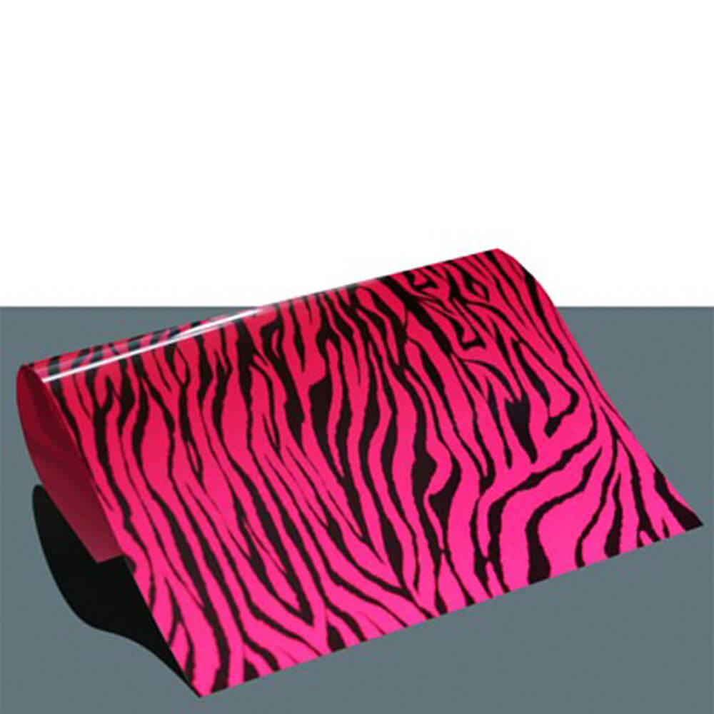 Folija za toplotni transfer - Pink zebra A4