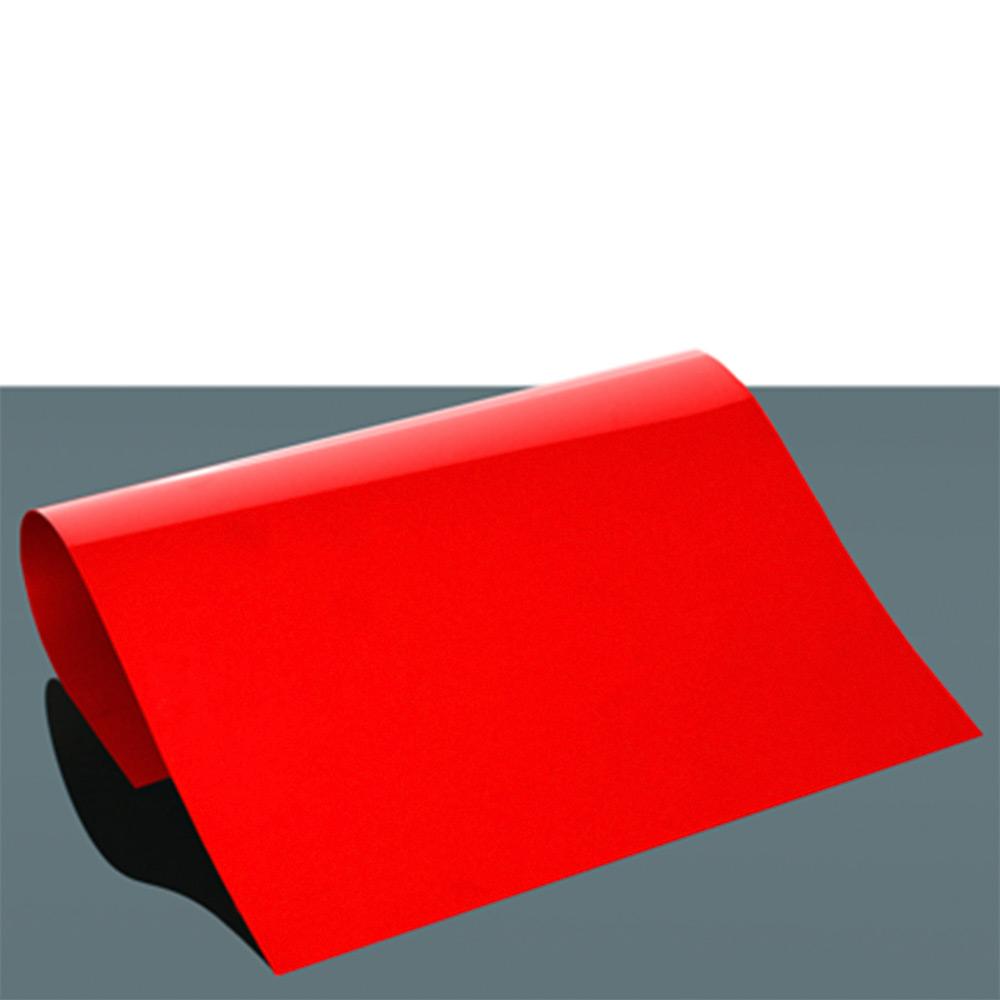 Siser Stripflock PRO - Ognjeno rdeča