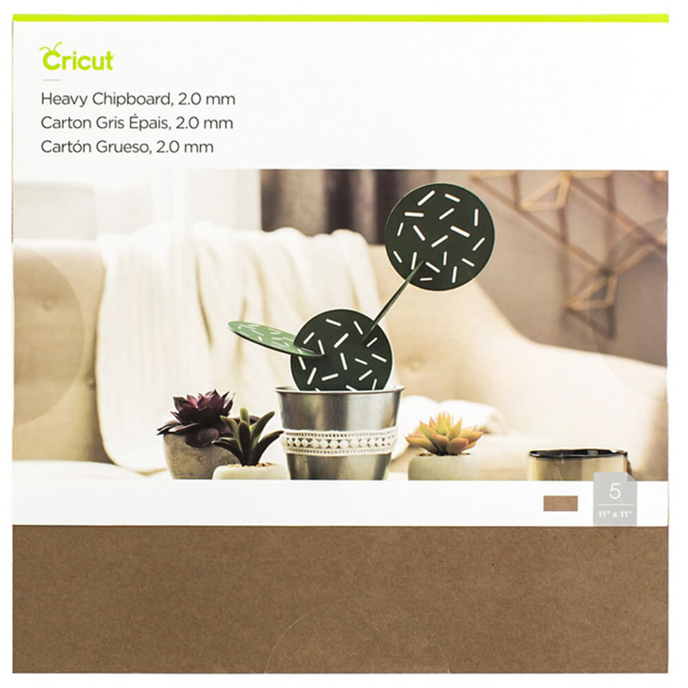 Cricut Heavy Chipboard