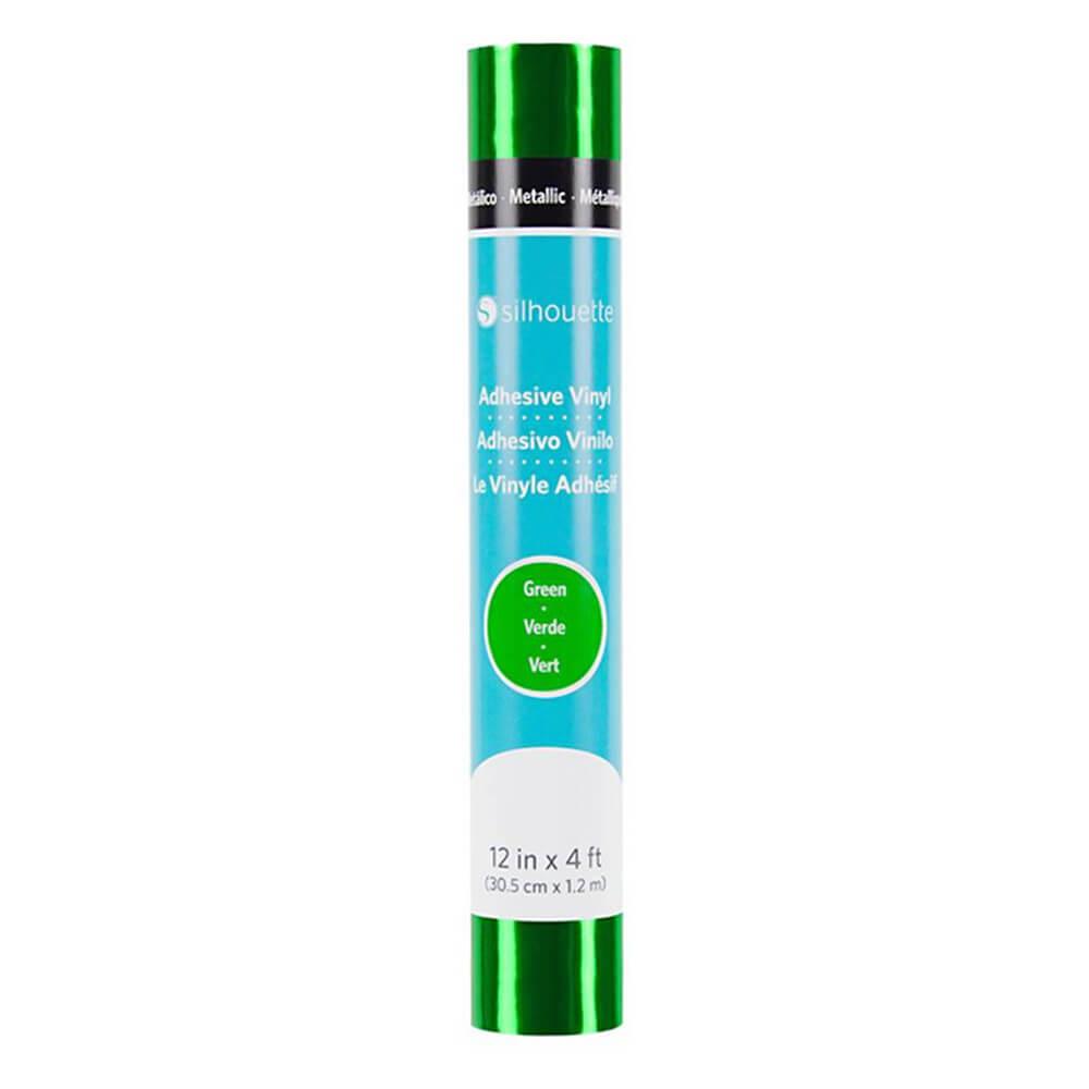 Silhouette metallic vinilna folija - Zelena