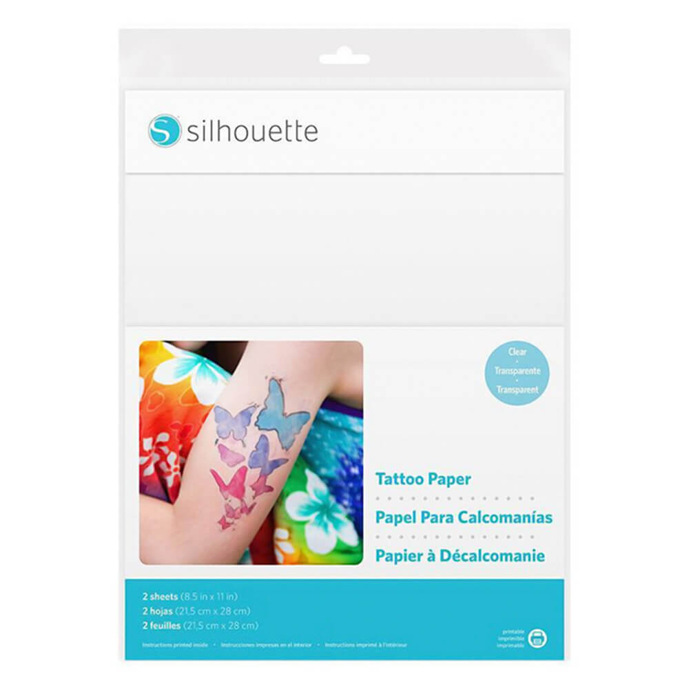 Tattoo Papir – Prosojen