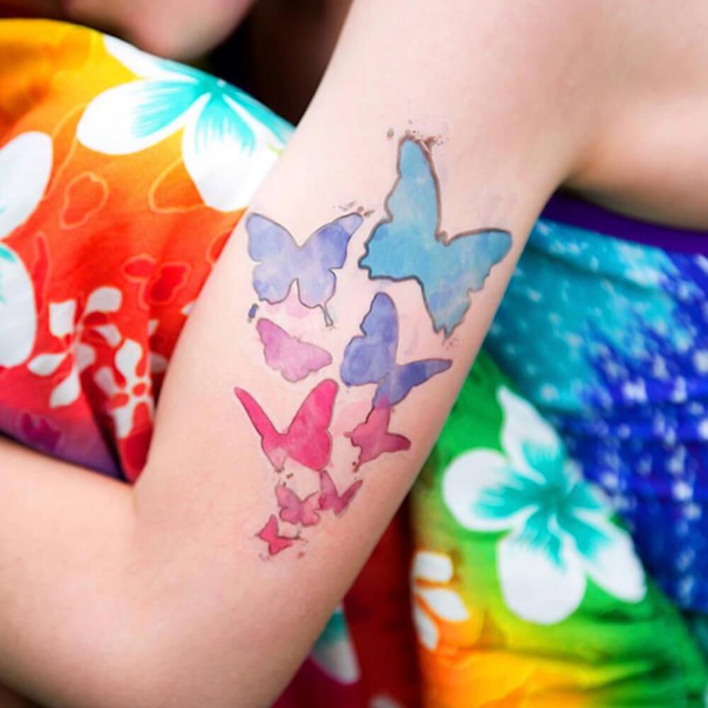 Tattoo Papir - Prosojen