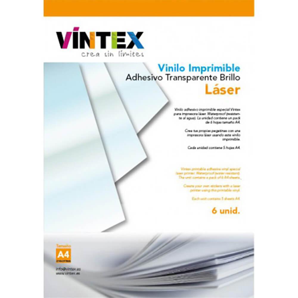 Transparentne Vinil Nalepke Za Laserski Tiskalnik