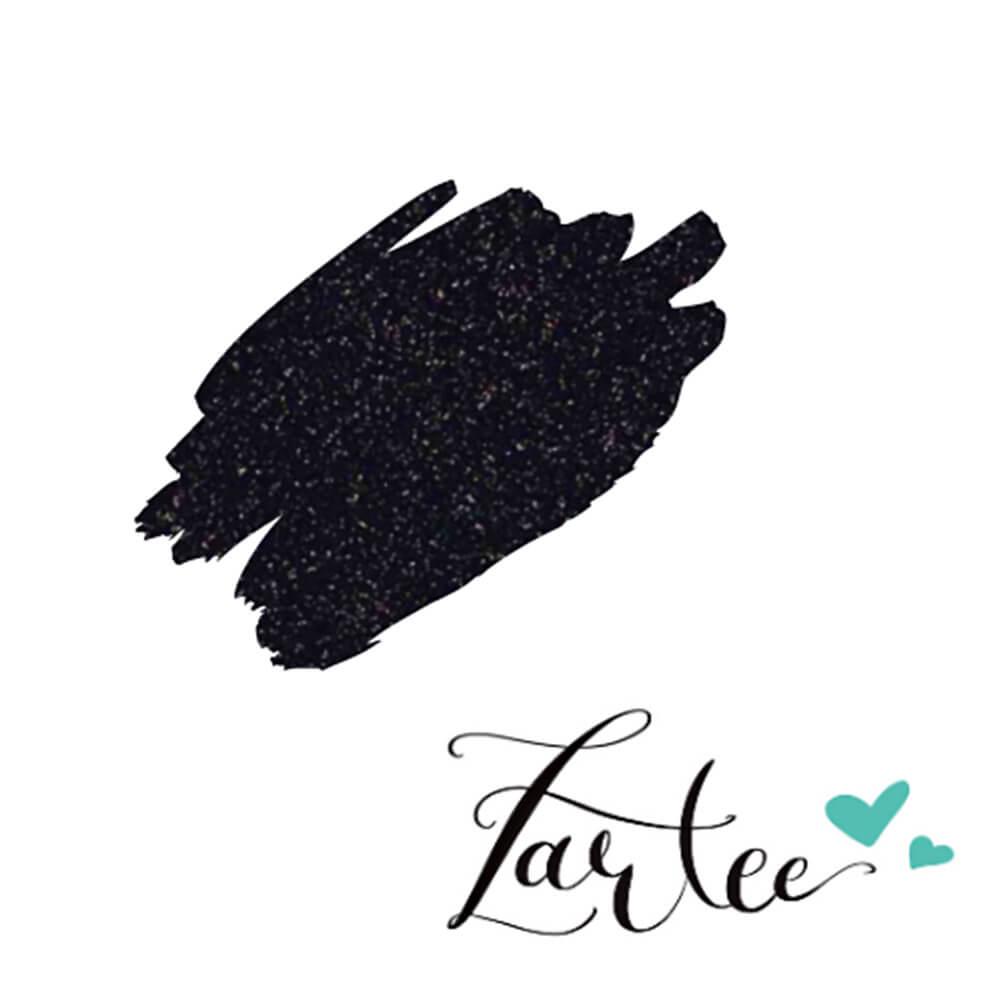 Zartee-flex Glitter - Črna